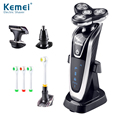 NEW Kemei KM5181 Smooth Shaver, Hair Clipper, Toothbrush Vibrissa Clipper 4 in 1 Set