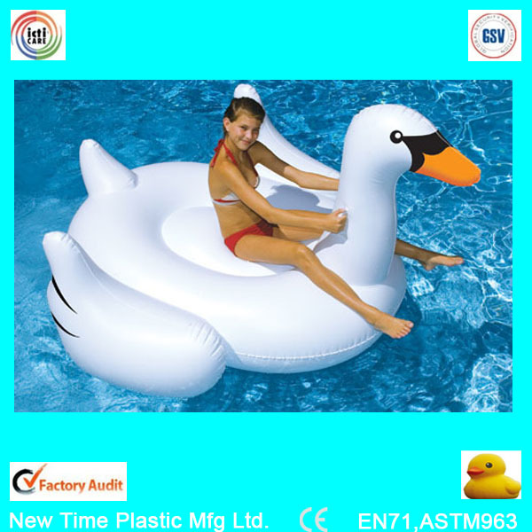 Inflatable Pool Float Swan