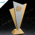 high-end popular hot sell metal plaque trophy award