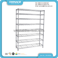 Beverage Bottle Display Shelf Rack for Supermarket Advertising