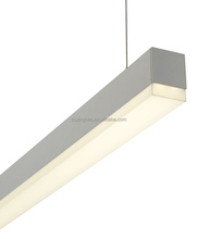 Architectural suspended Linear LED Direct Office Lighting Fixture