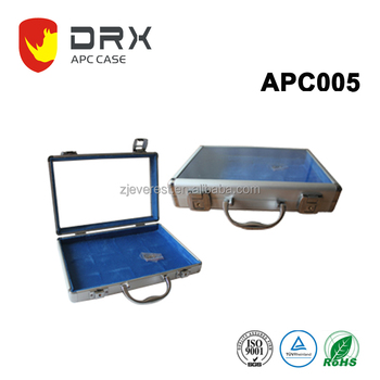cheaper and professional taiping silver aluminum tool box