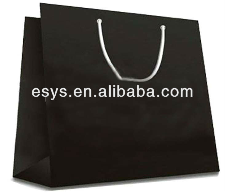 flashing led light bag/flashing shopping bag