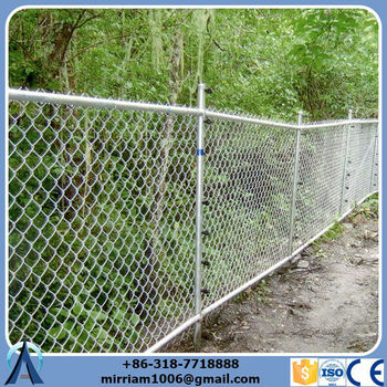 Wholesale China Factory diamond mesh fence for tennis court 6ft h 2 x 9 gauge (13) 50ft rolls