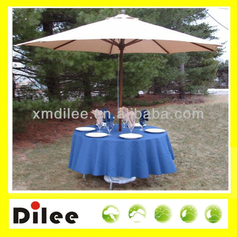 pulley systerm table decoration commercial patio umbrella