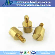 High precision CNC Brass Lathe Turning Machine Mechanical Parts