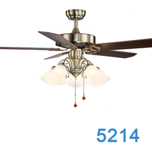 Latest Vintage Style Europe Design Ceiling Fan Outdoor With Light