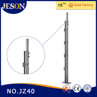 stainless steel stair handrail stanchions