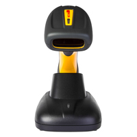 nt-1203 bluetooth wireless 2d ip67 industrial rugged barcode scanner with stand mini wireless laser scanner