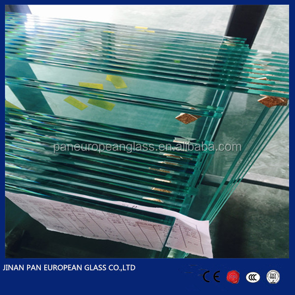 3mm-19mm tempered glass pool fencing/ tempered glass panel stairs/ louver
