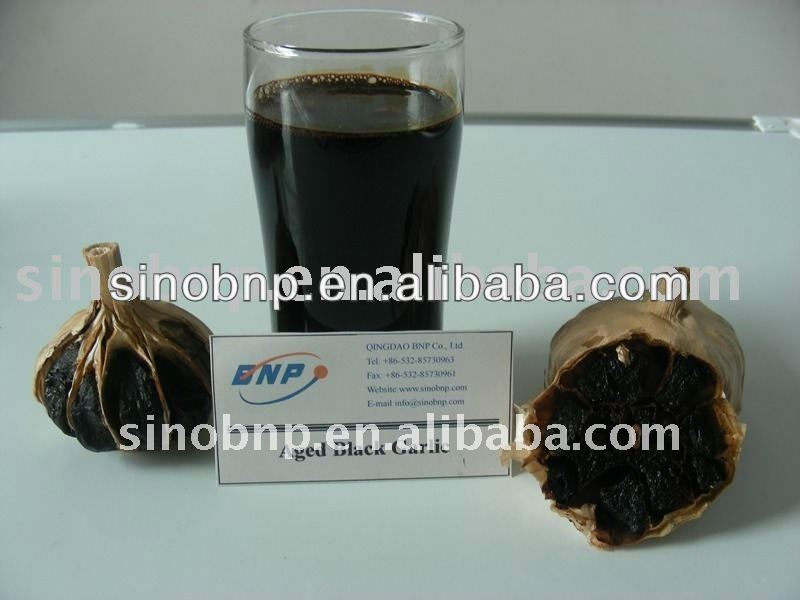 BNP Supplies Top High Quality aged black garlic extract liquid