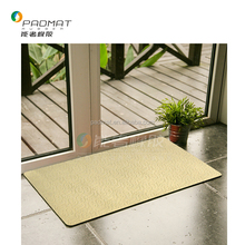 Living Room Anti-slip Washable Rubber Floor mat/Indoor Carpet with Custom Design