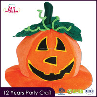 2016 New Product Foam Pumpkin Hat For Halloween Parties Party Supplies