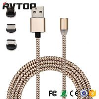 1 M fast charging high speed charging magnetic charging cable with CE ROHS certifcation