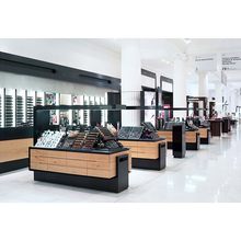 cosmetic counter design and display showcase