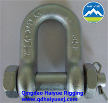 forged D shackle