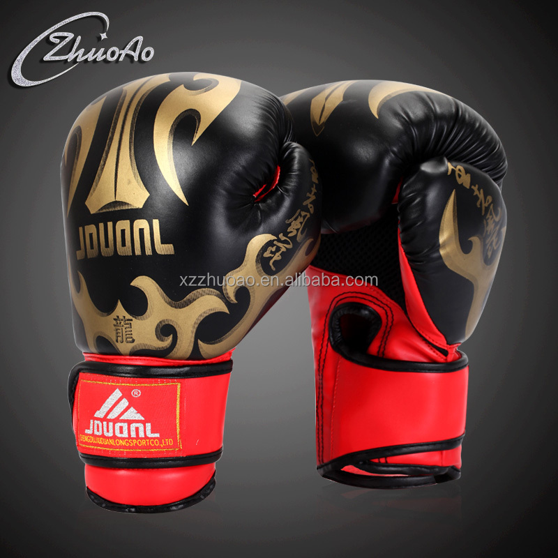 Competitive Breathable Grant Boxing Gloves Men Heavy Bag Custom Boxing Gloves PU Material Gloves Boxing