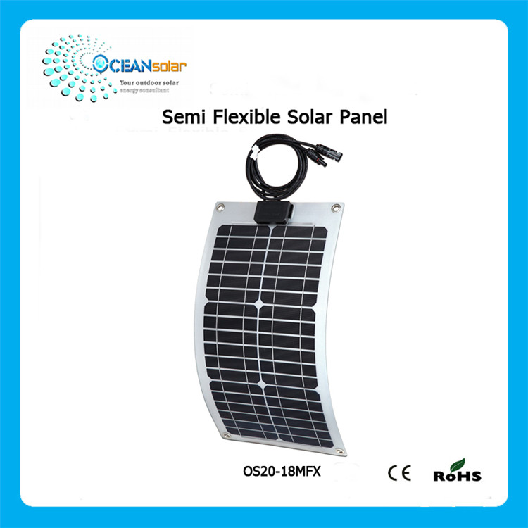 Reliable and Cheap hot sell sunpower semi flexible solar panel Sold On Alibaba
