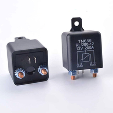 Start relay RL280 200A 12V 24V Power Automotive Relay Heavy High Current Starting relay