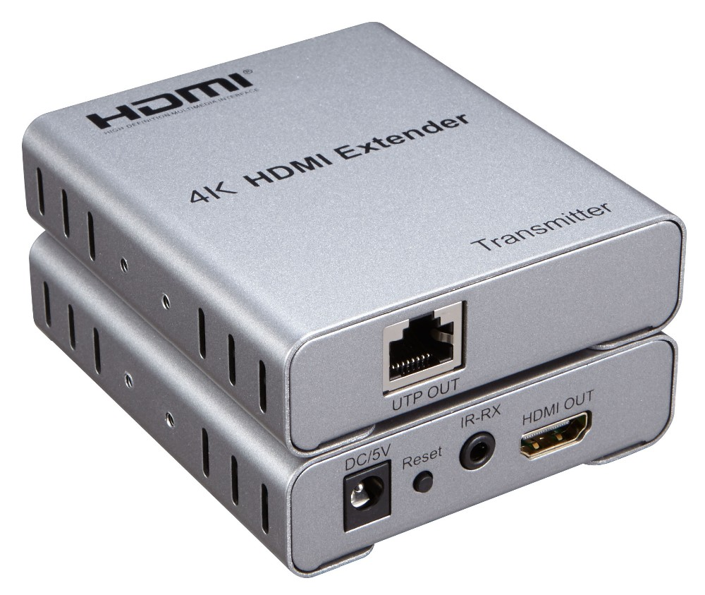 Hot on sale 4K 50M HDMI Extender via CAT5E/6 cable made in China factory