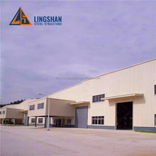 China Low cost prefab surplus used steel building prefabricated warehouse/workshop/hall
