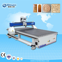 low investment woodworking cnc router 1300*2500 mm , 1325 cnc router new design
