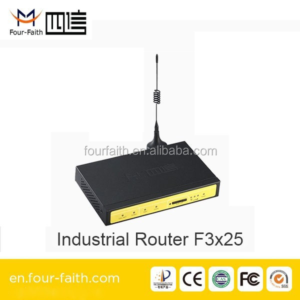F3125 Industrial GSM/GPRS Wireless Modem Router for Power and Energy Management