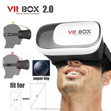 "good price good quality 3d smart tv vr box 4.7""-6"" smart phone using vr box glasses"