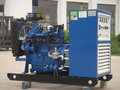 50Hz 80kw Open Type Large Cheap Natural Gas Generator set