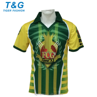 Custom design cricket team uniforms new cricket jerseys