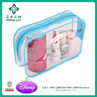 Clear Transparent PVC Waterproof Cosmetic Toiletry