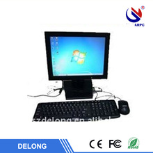 15 inch mount wall all in one touch panel pc with waterproof aluminum case