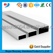 high quality anodized aluminum square tube