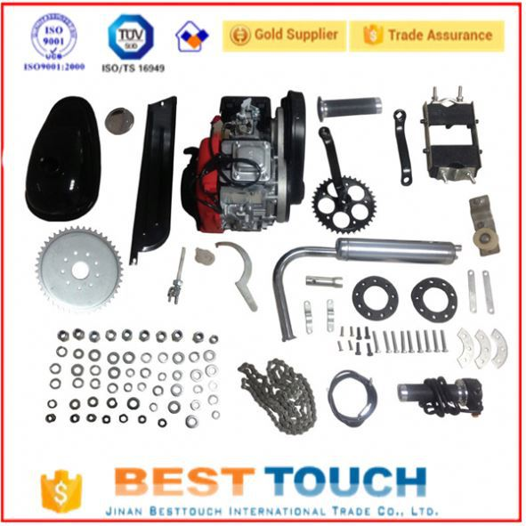 Bike 49cc 2 cycle single cylinder bicycle cycling engine kit gas bicycle engine kits 4 stroke in stock