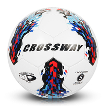 custom cheap promotional size 5 soft PVC leather soccer ball football for game