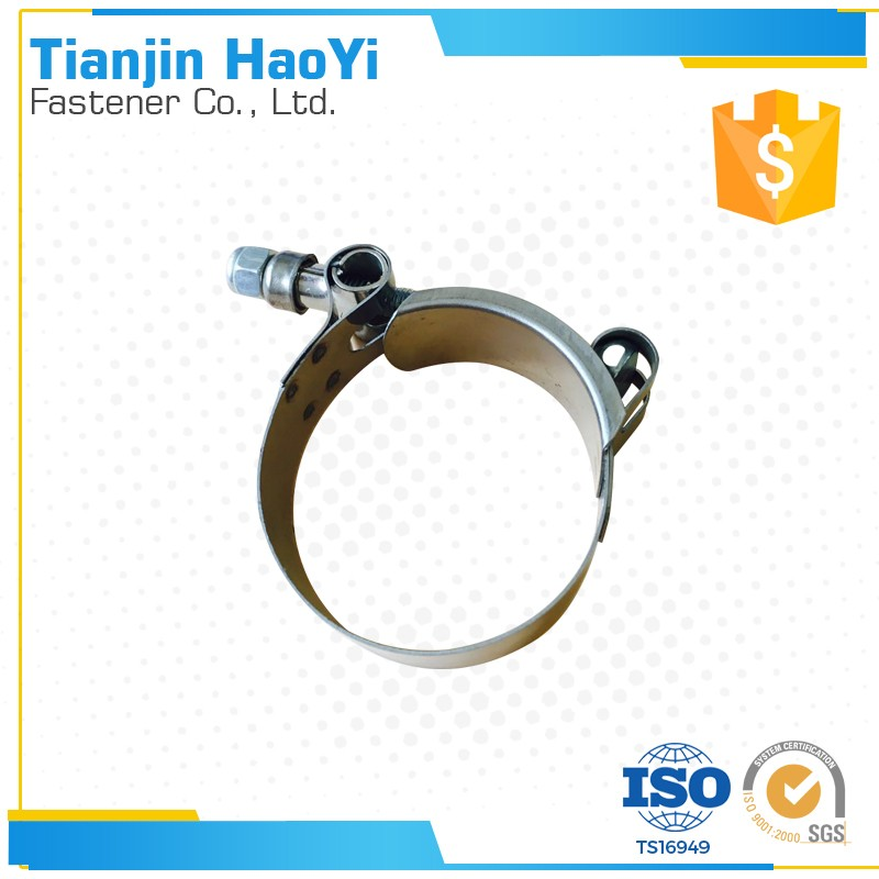 T clip round tension spring clamps