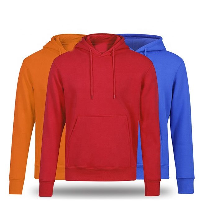 Wholesale cheap 12 colors add velvet blank plain custom printing embroidery logo hoodie