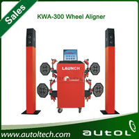 HOT SELL CE Certification Original LAUNCH KWA300 3D Wheel Alignment Machine for auto garage