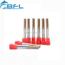 BFL Finishing End Mill 6 Flutes Extra Long Type For Cutting Stainless Steel