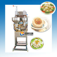 GW-110 Automatic Fish Ball Making Machine, Fish Ball Forming Machine (with stuffing) (#304 Stainless Steel).....Nice!