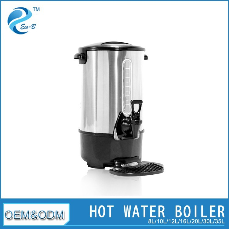 8L-35L Industrial Efficient Electric Kettle Red Color