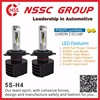 NSSC 25W 3500lm 6500lux H4 LED Headlight Bulb High Low Beam Auto LED Headlight