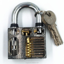 CNGUZE cutaway inside view practice padlock for lock pick training kit locksmith training