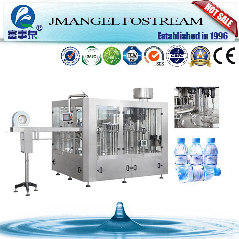 Factory direct 3in1 drinking water purifying bottling project