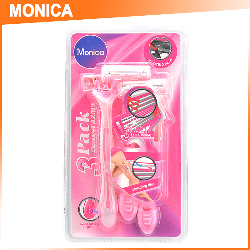 monica lady shaver medical shaver gold dollar razor
