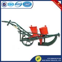 Manual hand corn maize bean seeder corn grain planter