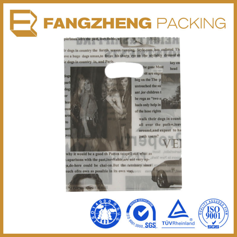 Printed bags / Plastic satin bag / PE shrink film