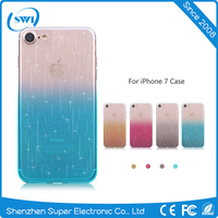High Quality Mobile Phone Case Color Changing Light TPU Cell Phone Case for iPhone 7 7 Plus