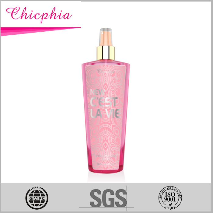2016 new sexy collections whitening body spray human fog body spray from 20years OEM factory