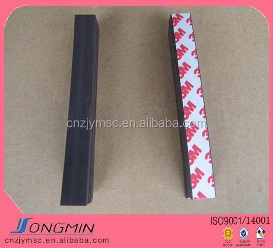 flexible material self adhesive magnetic strips